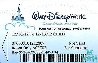 Key to the World Card