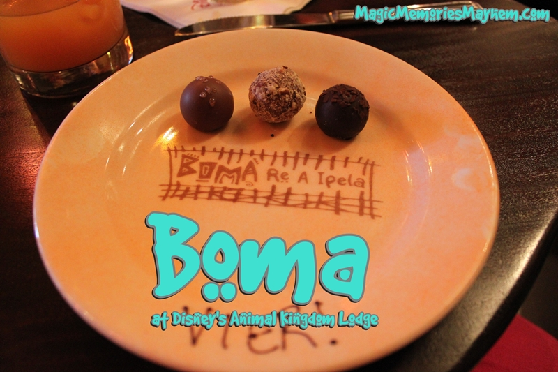 Boma at Disney's Animal Kingdom Lodge