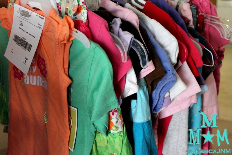 Organizing Kids' Clothes for Consignment