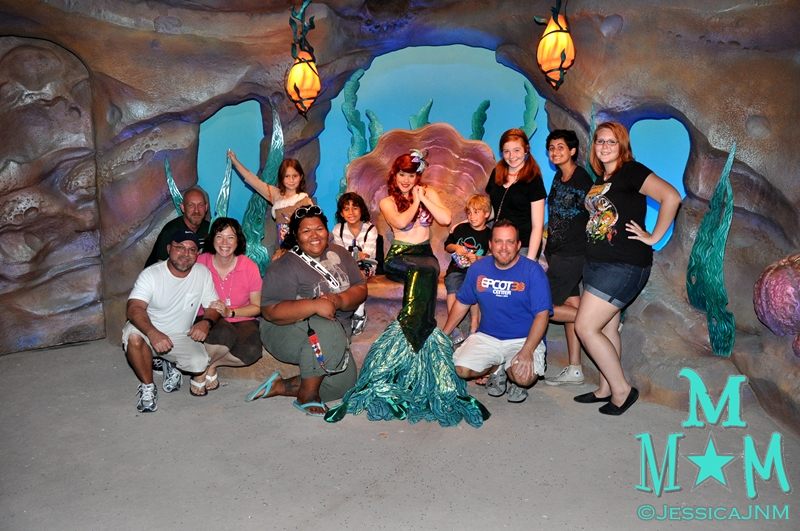 Meeting Ariel in New Fantasyland