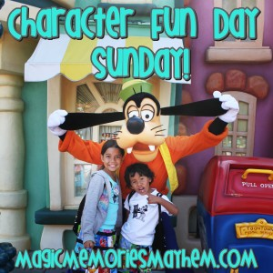 Character Fun Day Sunday