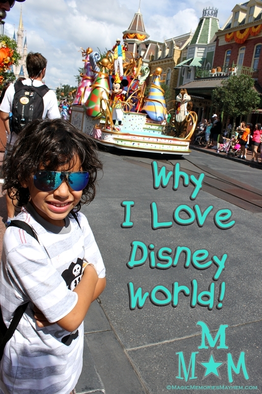 Why I Love Walt Disney World