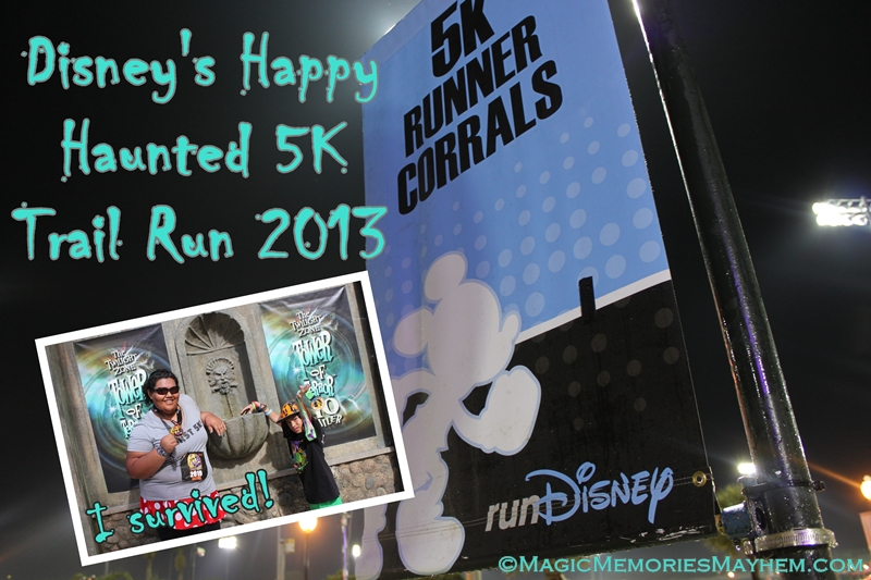 Disney's Happy Haunted 5K 2013