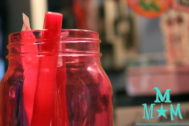 Coloring Glass with Mod Podge