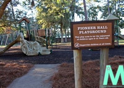 Playground at Pioneer Hall