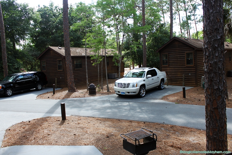 Cabins at Disney's Fort Wilderness Campground