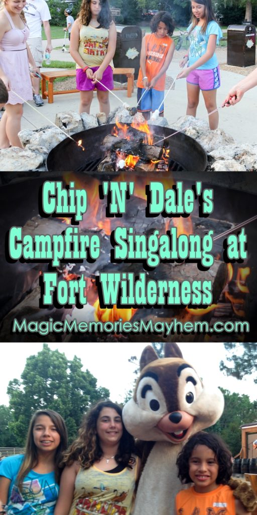 Chip 'N' Dale's Campfire Singalong at Fort Wilderness