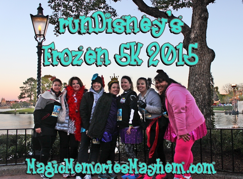 runDisney Frozen 5K 2015
