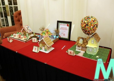 Cast Gingerbread Contest