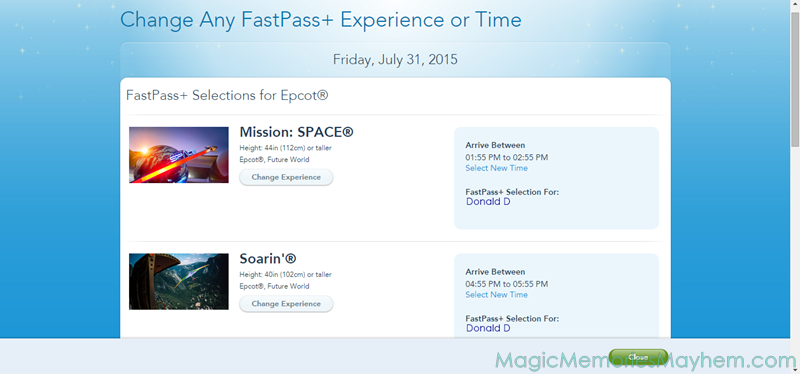 FastPass 201 with Magic, Memories, Mayhem