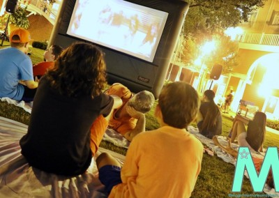 Movie Under the Stars at Disney's Boardwalk Inn and Villas