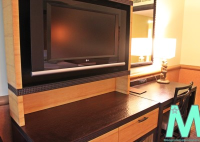 Television and Dresser