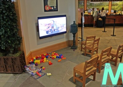 Kids' Area & Registration